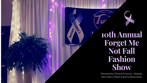 2018 Forget Me Not Fall Fashion Show Diamond Sponsors Announced