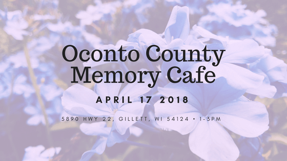 Memory Cafe Comes to Oconto County
