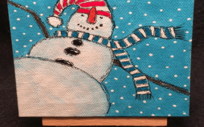 DENMARK MEMORY CAFE-It's Snow Fun Painting Workshop